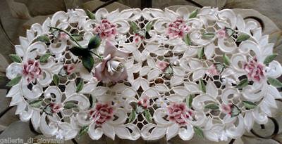 Doily Royal Rose Dreser scarf Lace  Doily Flower Floral  27
