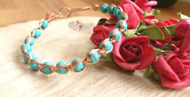 Handmade jewellery for swaps