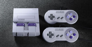 Super classic Nintendo new condition