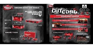MILWAUKEE TOOLS! One Day Sale (June 27th 2018)