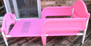Delta toddler bed for girl, Pink, no mattress