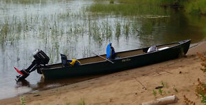 15 SQUARE BACK OLD TOWN DISCOVERY CANOE(NEW PRICE)