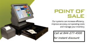 POS system with warranty, for restaurants, cafeteria, bar!!