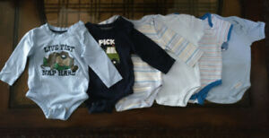 6 pieces  0-3 Months Baby Boy Clothes