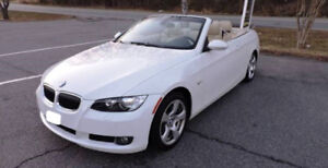 2008 BMW 328I CONVERTIBLE.141,221KM.CERTIFIED.$12,700