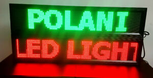 """NEW YEAR SALE- LED SIGN 3-COLORS (40""""X8"""") $174.99"""