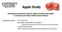 Participants needed for Apple Study - up to $300 compensation!