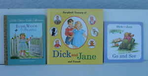 Dick and Jane and Golden Book Collection