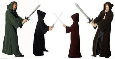 Umhang mit Kaputze Cape Kostüm Mönch Dracula Vampir schwarz Herren Kinder - Kinder Mönch Kostüm