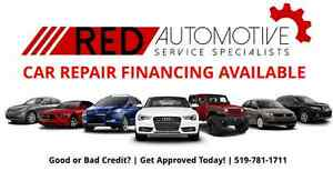Auto Repair FINANCING! Good or Bad Credit Approvals.