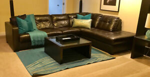 Ikea blue area rug