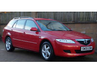 F/S/H Mazda 6 2.0 TS Estate - IMMACULATE CONDITION - 1 OFF EXAMPLE - LONG MOT