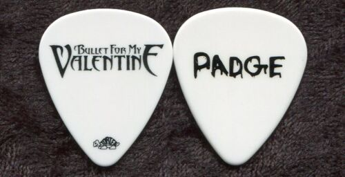 BULLET FOR MY VALENTINE 2010 Tour Guitar Pick!!! MICHAEL PAGET custom stage #3