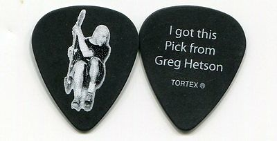 BAD RELIGION 2009 Warped Tour Guitar Pick!!! GREG HETSON custom concert stage #3