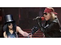 Guns N Roses Tickets - Pitch Standing/Level 1 Seats. Olympic Park Stadium, London!