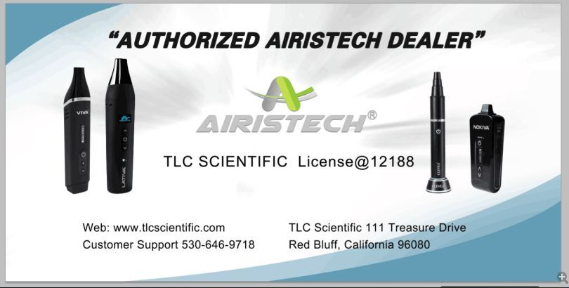 AIRISTECH AUTHORIZED-TLC SCIENTIFIC