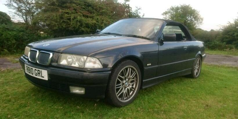 1997 BMW e36 328i convertible auto low miles 98k