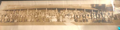 Antique Yard Long Photo of Rebekah Assembly Seaside Oregon May 1918