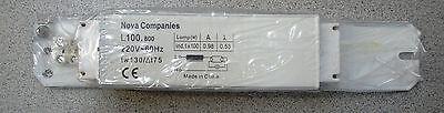 Nova Tanning Bed Parts Ballast 100w 220v 10120 P00361 Cho...