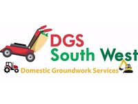 Domestic Groundwork and Garden Services - Digger Hire, Grass / Hedge Cutting, Landscaping + More!