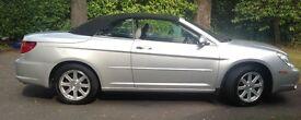 Chrysler Sebring 2.7 V6 2DR Limited Soft Top Convertible. 2009. 43,100 miles. Lady Owner . £3950