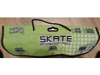 NO FEAR - SKATE PROTECTION PACK - BLACK - SIZE - SMALL