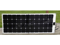 BLACK FRIDAY DEAL! Buy 2x140W TITAN ENERGY UK Flexible Solar Panels Motorhomes Caravans