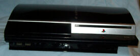 Playstation 3 console, 60 GB, one controller