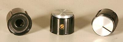 Knob - Plastic With Aluminum Insert - 2 Pieces