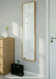 Oak Effect Mirror