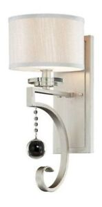 Wall Sconce, Silver Sparkle (2 available)