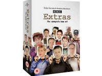 Extras complete dvd boxset (series 1&2 plus special)