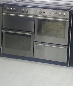 Sliver range cooker