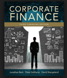 Corporate Finance Textbook - Third Canadian Edition