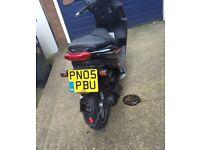 Piaggio 350 Ono swap pushbike