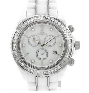 New- ONISS Chronograph Day date Watch With Crystals