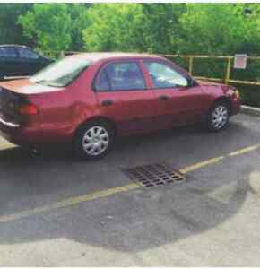 2002 Toyota Corolla Sedan Kitchener / Waterloo Kitchener Area image 1
