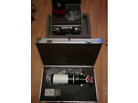 Lunt LS60FHa Scope with 1200 block filter & 60mm H-Alpha Double Stack Etalon Solar-Filter