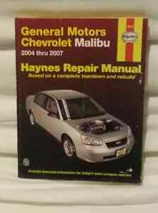 Haynes Repair Manual: General Motors, Chevrolet Malibu