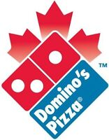 Dominos Pizza looking for Delivery People!
