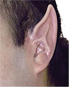 ALIEN ELF EAR TIPS FAIRY HOBBIT SPOCK VULCAN LARP SPACE ADULT COSTUME EAR ...