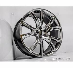 """20"""" JEEP SRT STYLE WHEELS SHADOW CHROME 265/50R20 TYRES Sydney City Inner Sydney Preview"""