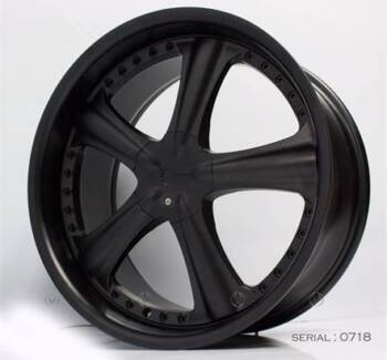 FORD FG 20 INCH ALLOY MAG WHEELS AME 1 PCS BLACK Banksia Rockdale Area Preview