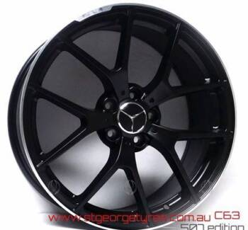 MERCEDES 19 INCH 507 STYLE MATT BLACK PACKAGE SALE LIMITED STOCK! Banksia Rockdale Area Preview