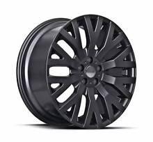 "22"" INCH BLACK Porsche WHEELS QUANTOM 5X130 Q7 COSWORTH RIMS Arncliffe Rockdale Area Preview"
