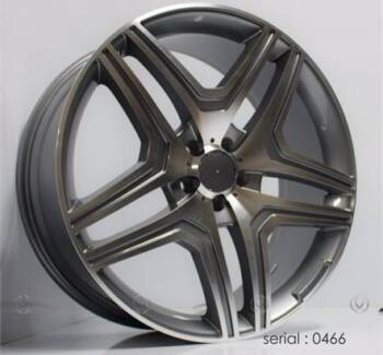 22 INCH MERCEDES ML63 STYLE WHEELS CONTINENTAL OR PIRELLI PACKAGE Banksia Rockdale Area Preview