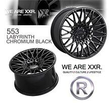 SUBARU WRX 18 INCH XXR 553 CHROMIUM BLACK WHEELS KUMHO KU31 PACKAGE Arncliffe Rockdale Area Preview
