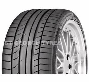 2X NEW 295/30R20 CONTINENTAL SPORTS CONTACT 5P TYRES MERCEDES Sydney City Inner Sydney Preview