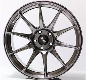 """MITSUBISHI LANCER RALLIART 18"""" WHEELS TYRES PACKAGE SALE XXR 527 Sydney City Inner Sydney Preview"""