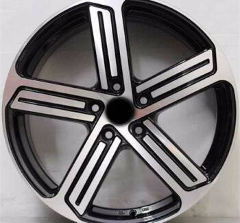 GOLF 7 MACHINE BLACK 18 INCH WHEEL AND TYRE PACKAGE SALE LIMITED Banksia Rockdale Area Preview